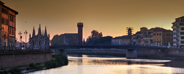 Pisa Sunset by erino