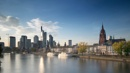 Downtown Frankfurt along the River Main by hrsimages