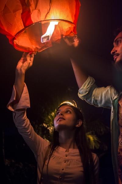 Light of Hope by Sandipan
