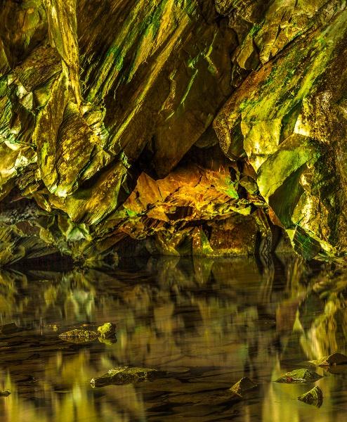 Rydal cave by Bigpoolman