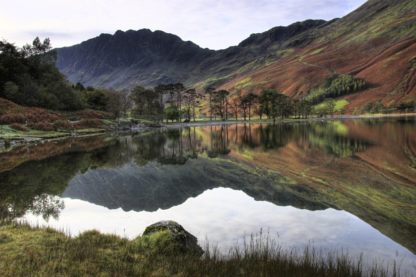 Buttermere Reflection 2. by jevy47