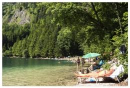 the joy of summer ( Vorderer Langbathsee )