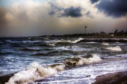 Storm at Lee on Solent