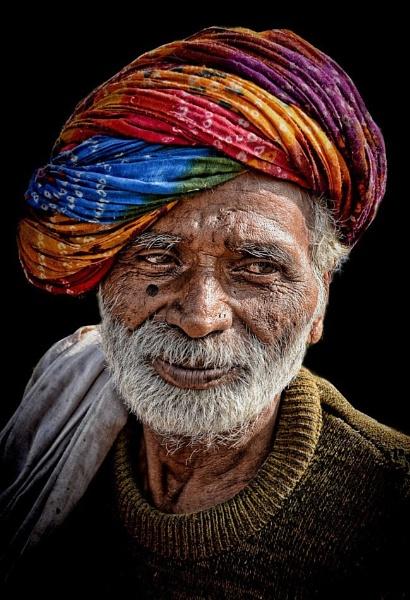 Rajasthani farmer by sawsengee