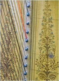 Harp abstract.