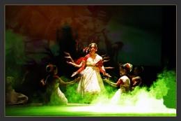 En Acting Goddes Durga