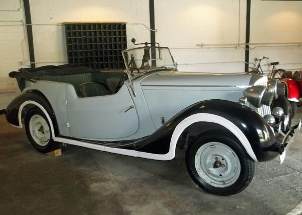 Vintage Sunbeam Talbot