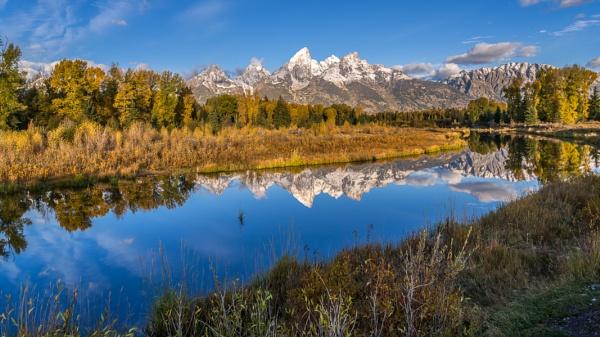 Grand Tetons Reflection by Phil_Bird