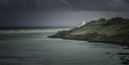 Storm clouds over Start Point