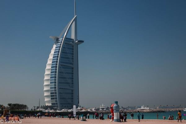 Burj Al Arab by Swarnadip