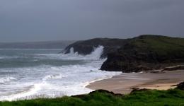 Storm Brian at Mother Ivys Bay