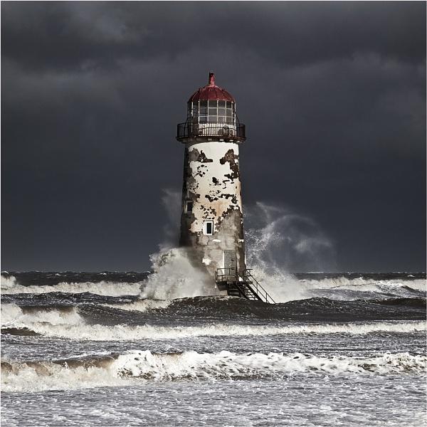 Talacre Storm II by jeanie
