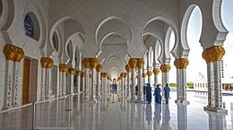 Sheiikh Zayed Grand Mosque Part 3, Abu Dhabi, UAE
