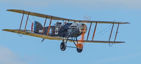 Royal Flying Corps Bristol F2B Biplane by brian17302
