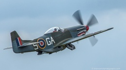 RAF P-51D  Mustang Mark4 at Flying Legends Airshow Duxford