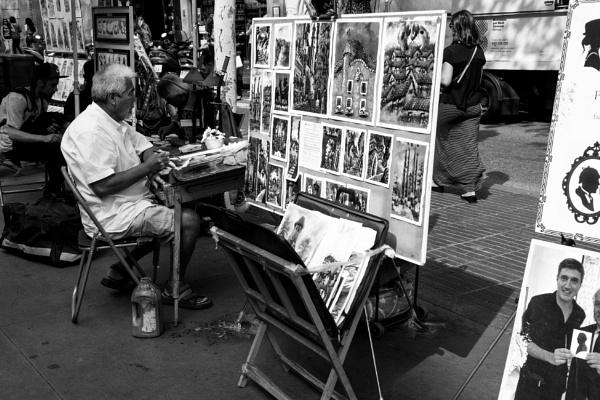 Street Artist - Barcelona by ginz04