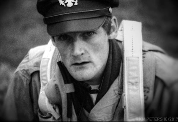 Thousand Yard Stare of A WW2 Pilot by Hamlin