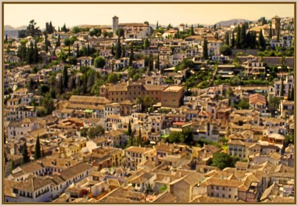 Granada from Alhambra