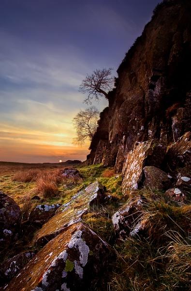 Wall Sunrise by Fma7