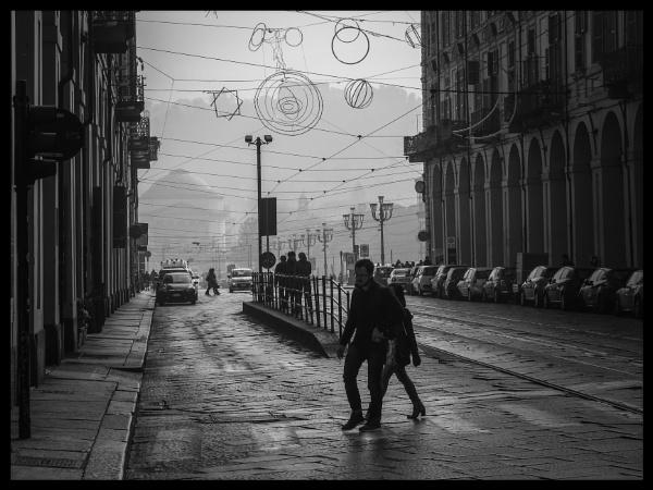 Crossing a turin road by Alex4xd