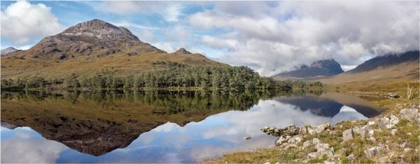 The Mirrored Loch by Somerled7