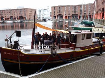 Sea Shanties at Liverpool Albert Dock