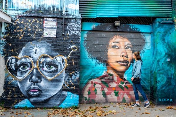 Shoreditch Street Art by falsecast