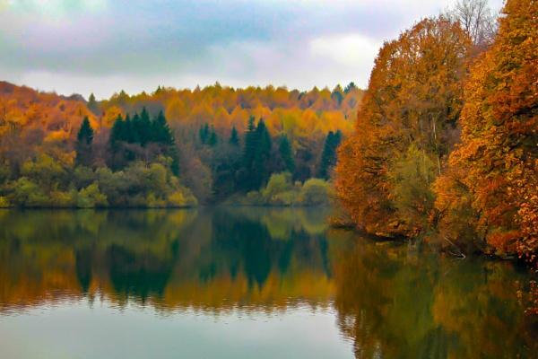 Autumn Landscape by sjr