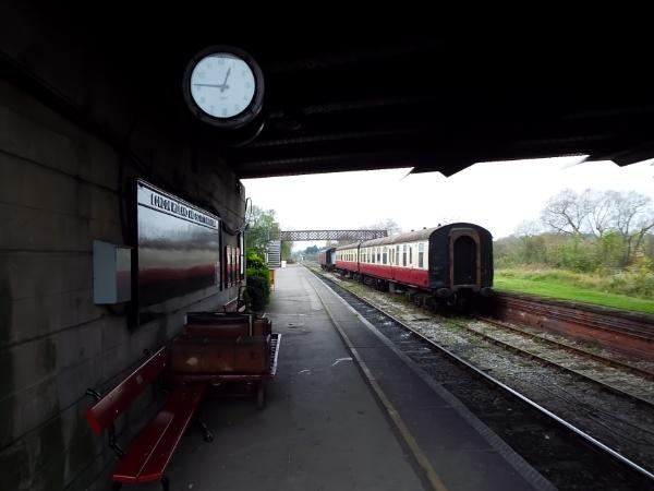 Station platform by OverthehillPhil