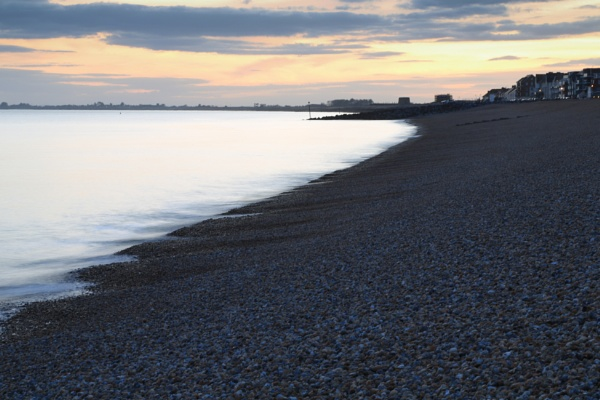 Evening at Hythe by brianwakeling