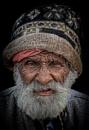 Old man of Rishikesh by sawsengee
