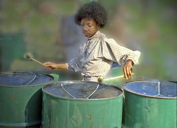 Steel Band Drummer
