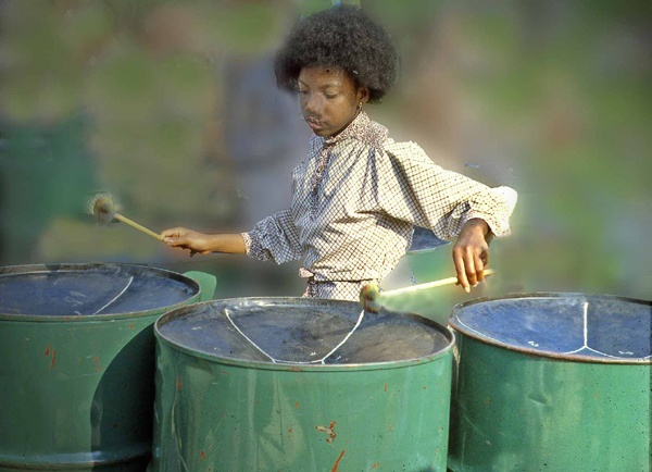 Steel Band Drummer by freestyle