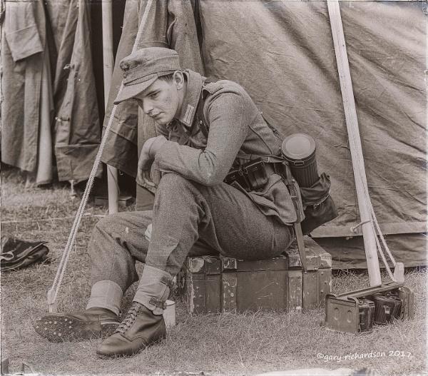 german soldier by djgaryrichardson
