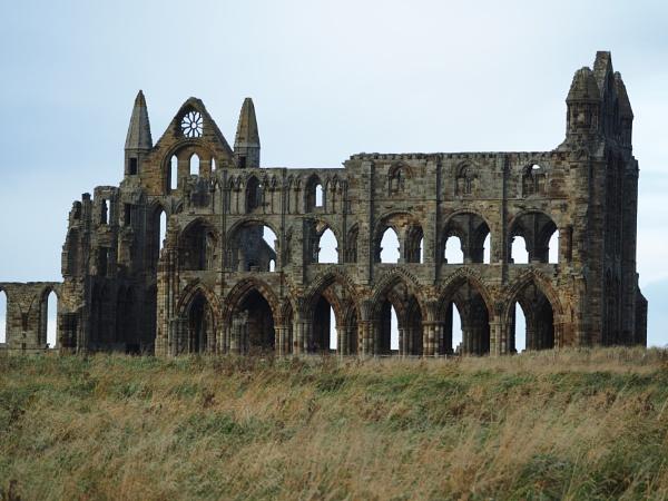Whitby Abbey Ruins by ANNDORASBOX