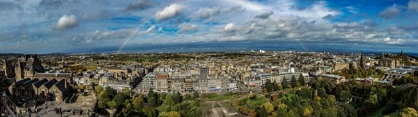 Edinburgh Rainbow by TheShaker