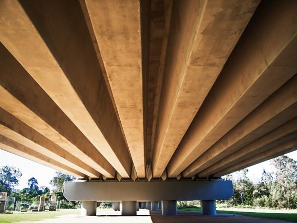 Underneath the Railway Bridge