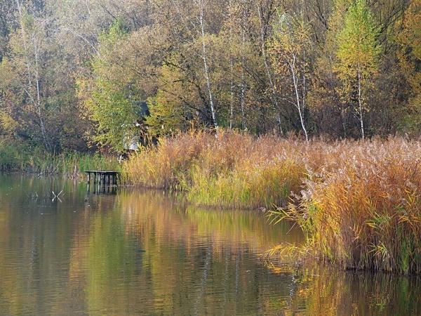 Lake scenery by LaoCe