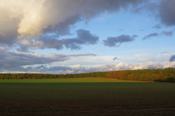 Autumnal Series - Dramatic Clouds by PentaxBro