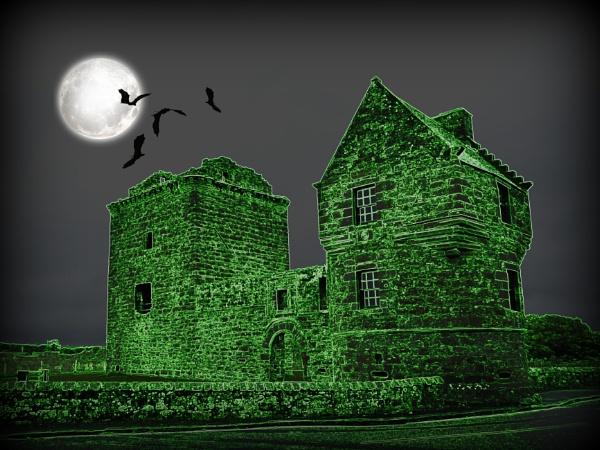 Spooky Castle by BarbaraR