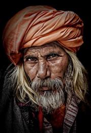 Wandering pilgrim in Haridwar