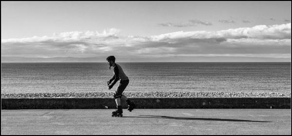 Get on your skates.