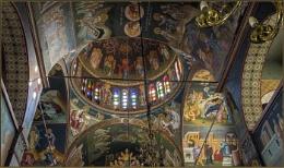 Paradisi village church in Rhodes Greece
