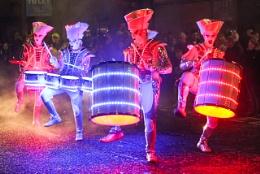 Spark! LED Drummers