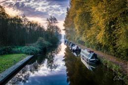 Slumbering Canal Boats