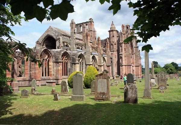 St.Mary,s Abbey, Melrose by JOKEN