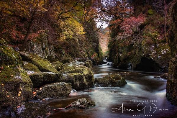 Ffos Anoddun / The Fairy Glen, Betws-Y-Coed by Tynnwrlluniau