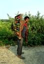 Indian Glass-Bangles(Reshmi Churi) Seller..2 by debu