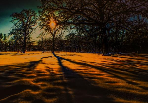 Sunset. Pelham Bay Park. The Bronx. NY by starik39
