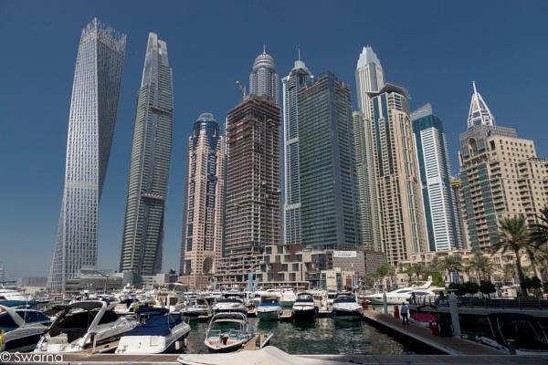 Dubai Marina by Swarnadip
